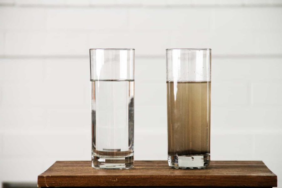 How long can water be stored before it goes bad?