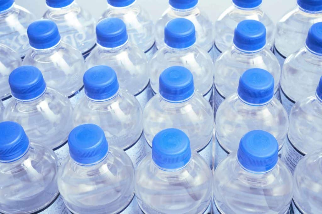 store bought and manufacture sealed water bottles for water storage