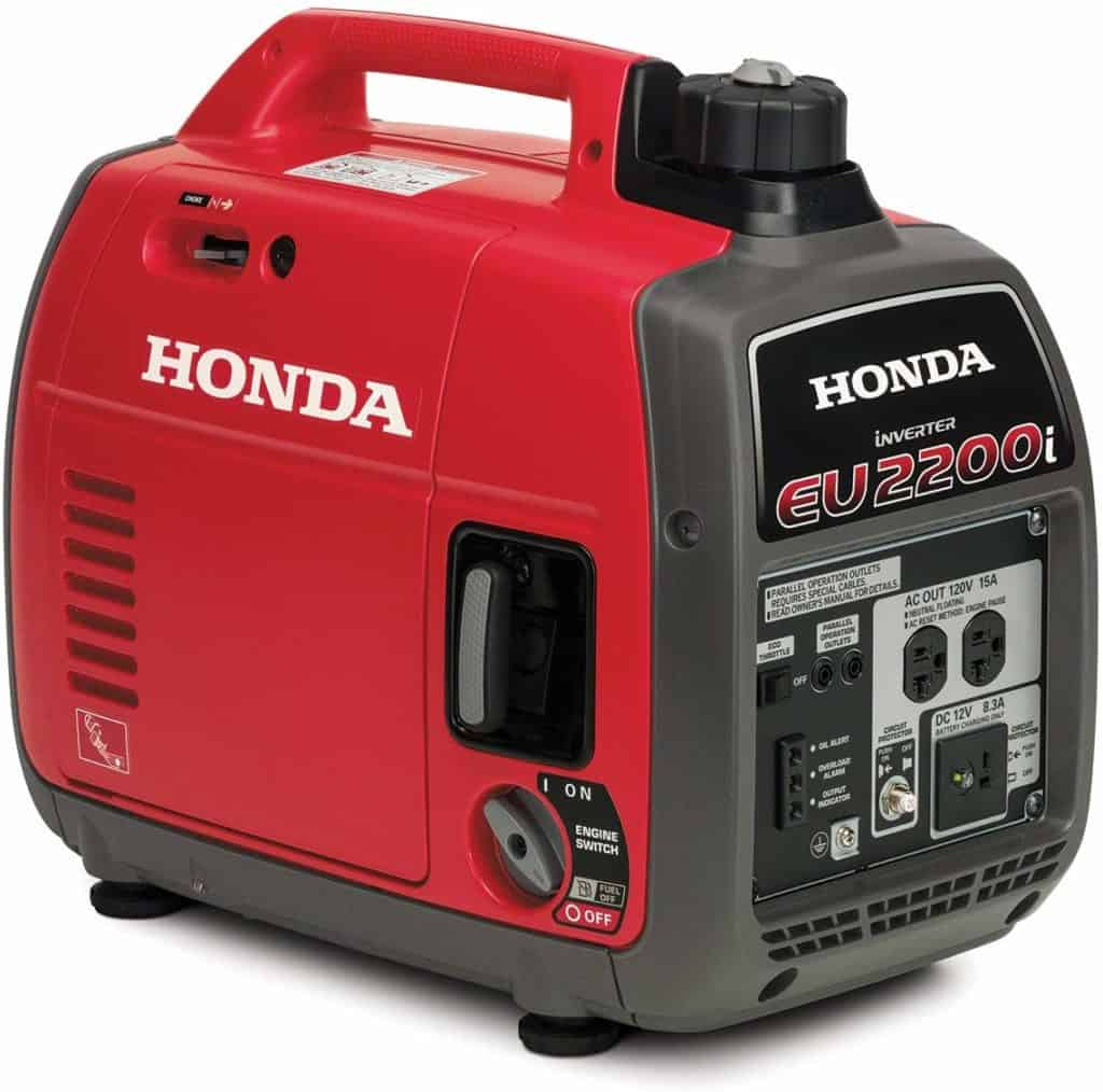 honda generator used to power 3 month food supply freezer and more