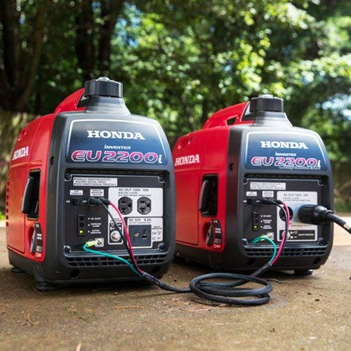 Honda EU2200i Generator with EU2200IC and Parallel Cables set to help keep your frozen 3 month food supply from going bad