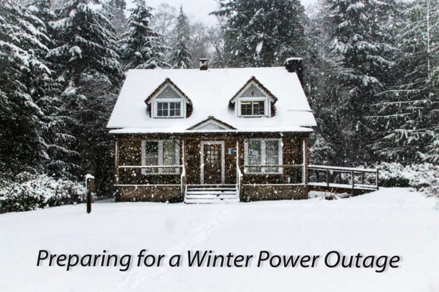 how to prepare for a power outage in winter and cold weather