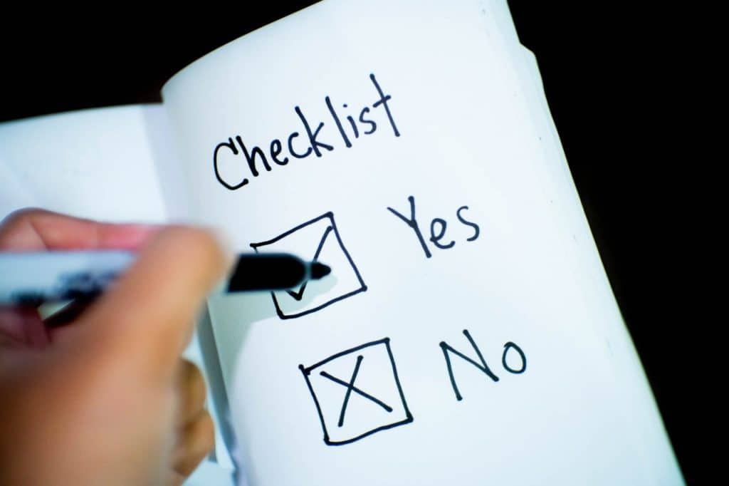 priority checklist for prepping on a budget