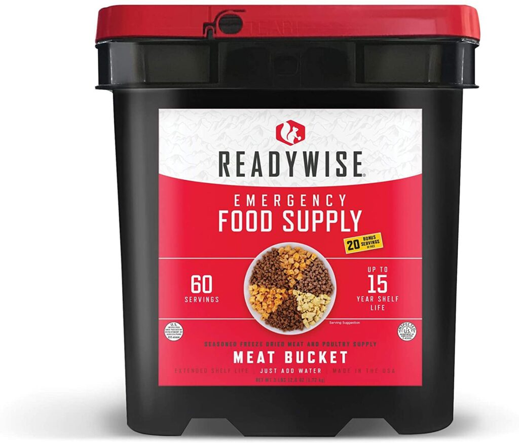 freeze dried meats are one of the best foods for long term food storage