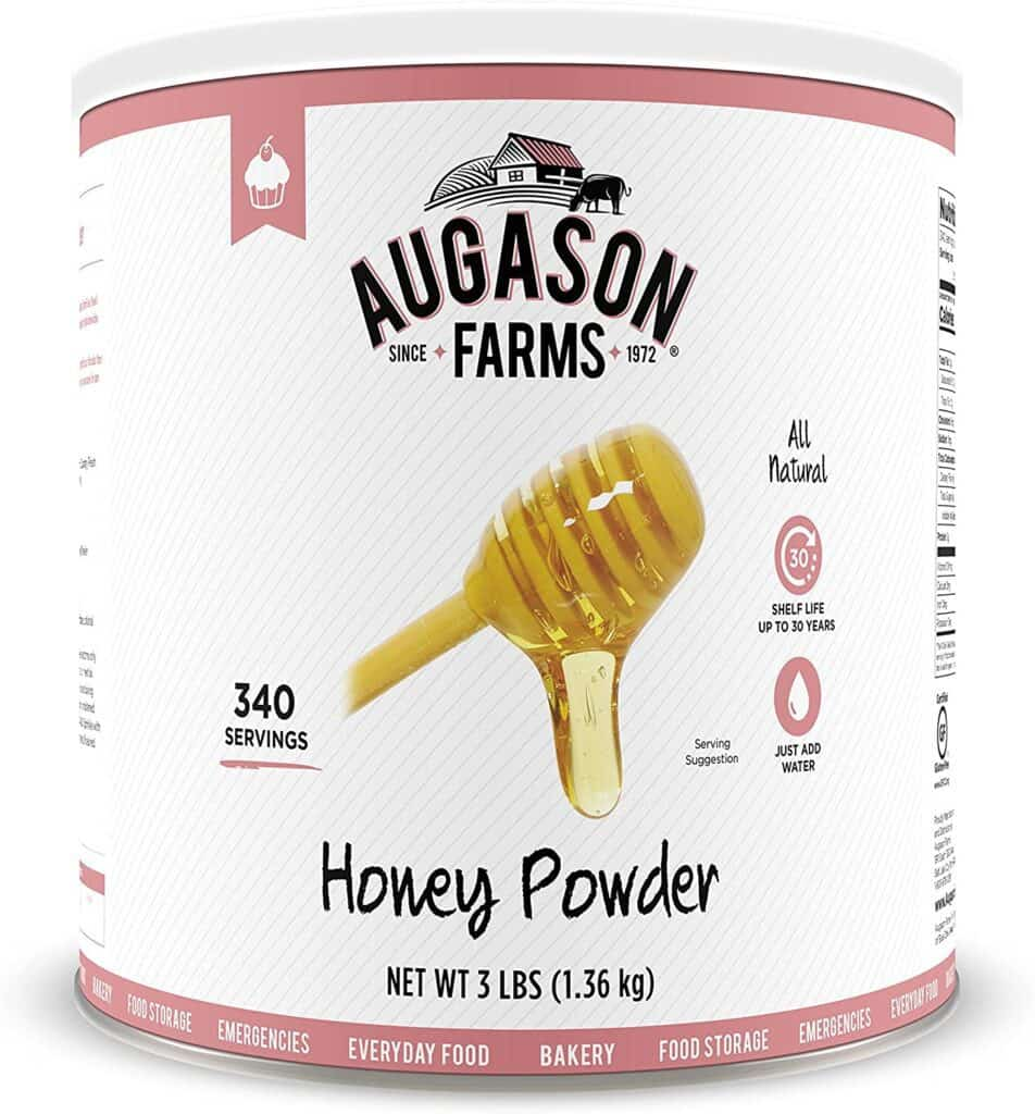 best honey for long term food storage