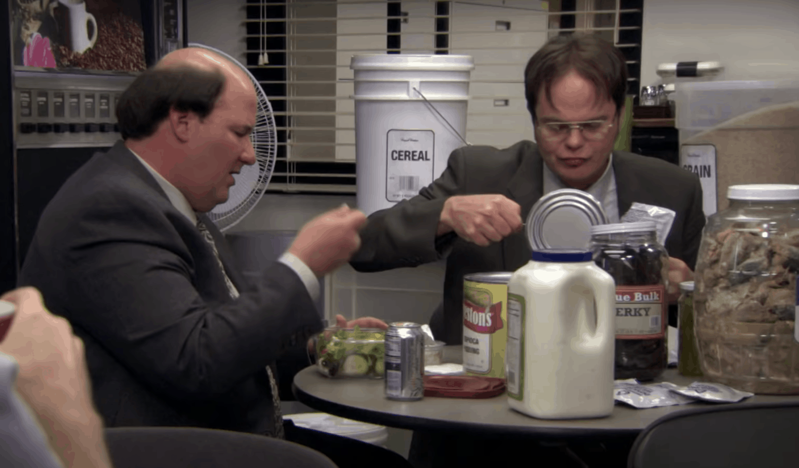 dwight schrute survival food