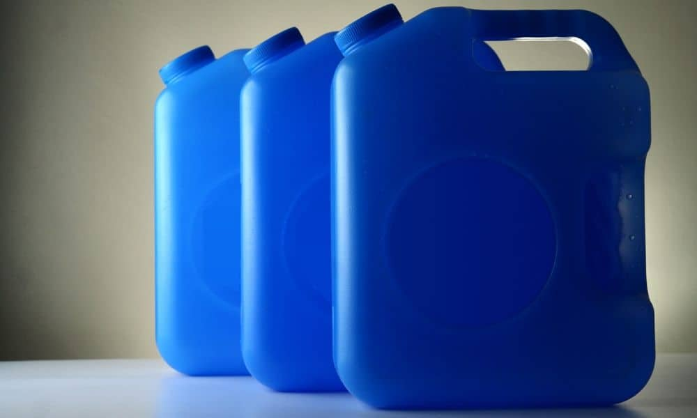 how to store large amounts of water for long term water storage