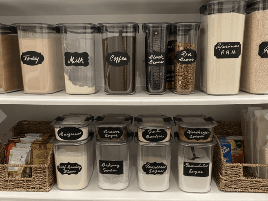 best stackable airtight food storage containers for the pantry