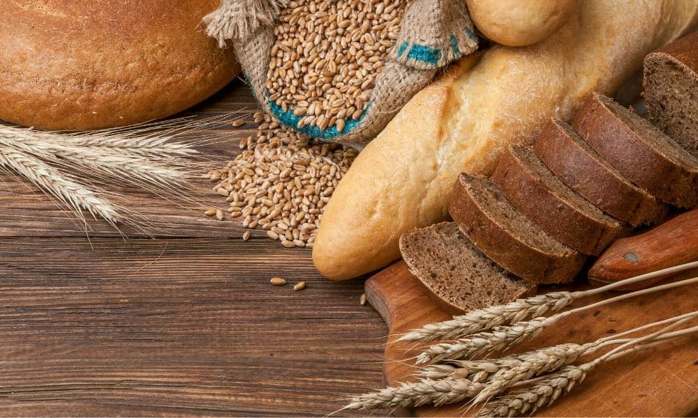 hard wheat used for products that have a strong structure such as bread, rolls and buns.