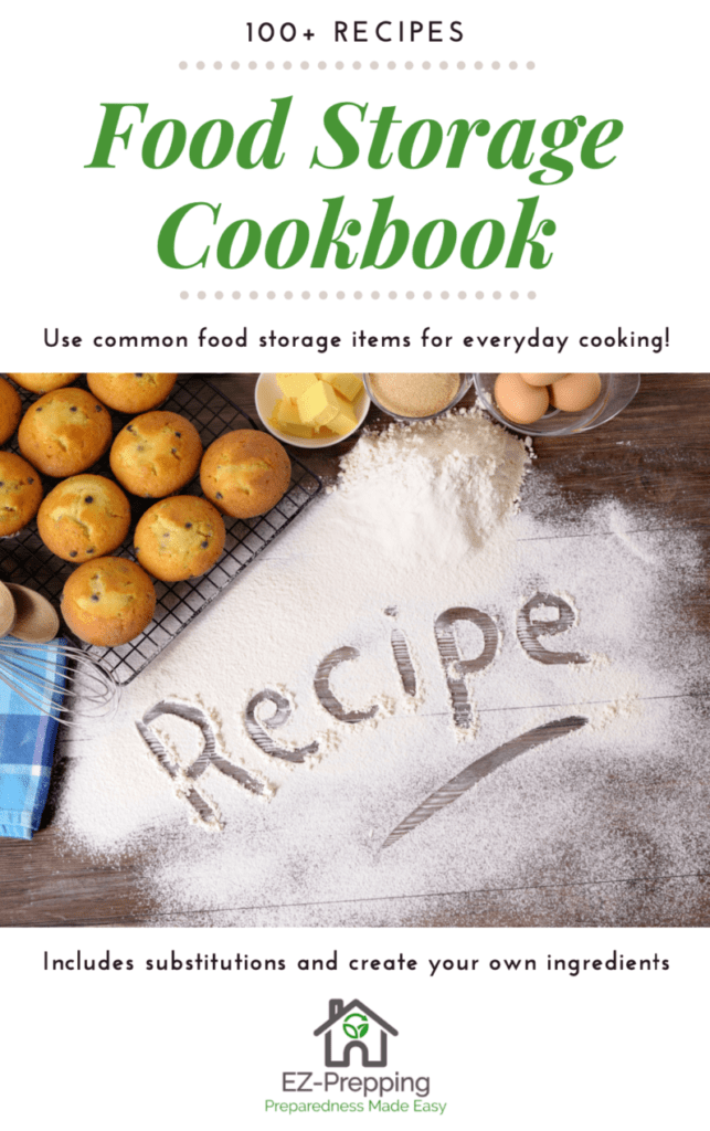 Food Storage Cookbook pdf download with more than 100 recipes