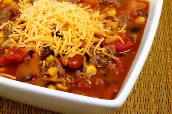 taco soup from food storage cookbook